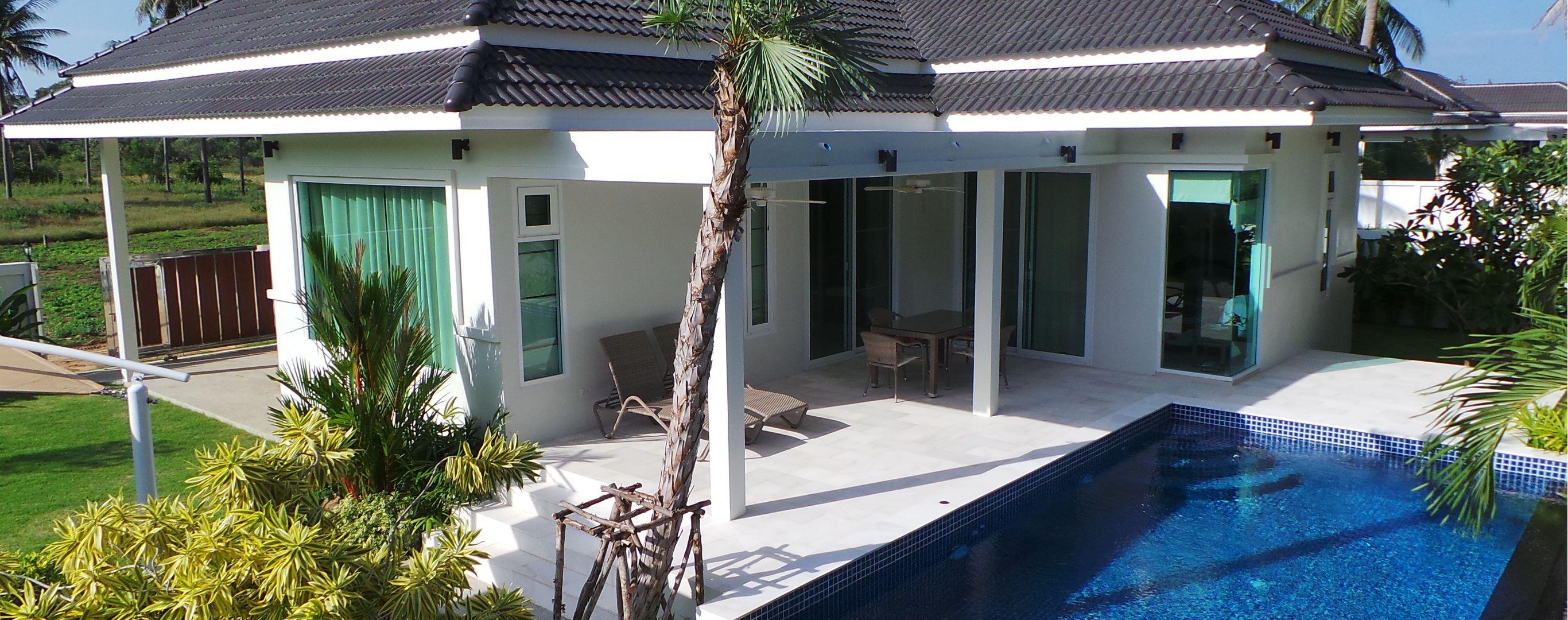 Cottage village White Beach: description, layout and reviews 75